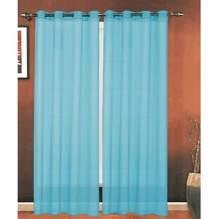 Turquoise Bedroom Curtains | Wayfair