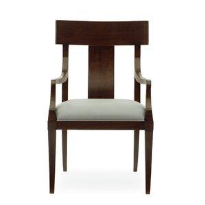 Haven Slat Back Upholstered Dining Chair by Bernhardt
