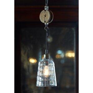 pulley lighting. pulley 1light mini pendant lighting a