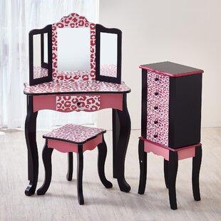 Girls Vanity Table Wayfair