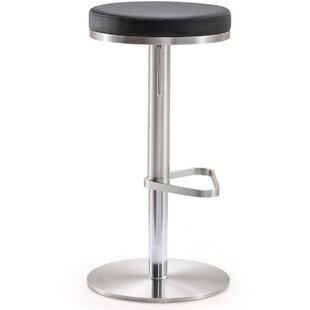 Hatch Steel Adjustable Height Swivel Bar Stool