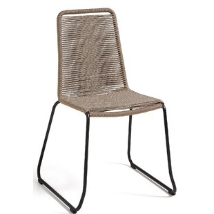 Meagan Metal Armless Stacking Chair ...