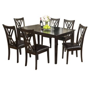 Normandie 7 Piece Dining Set by Hokku Designs