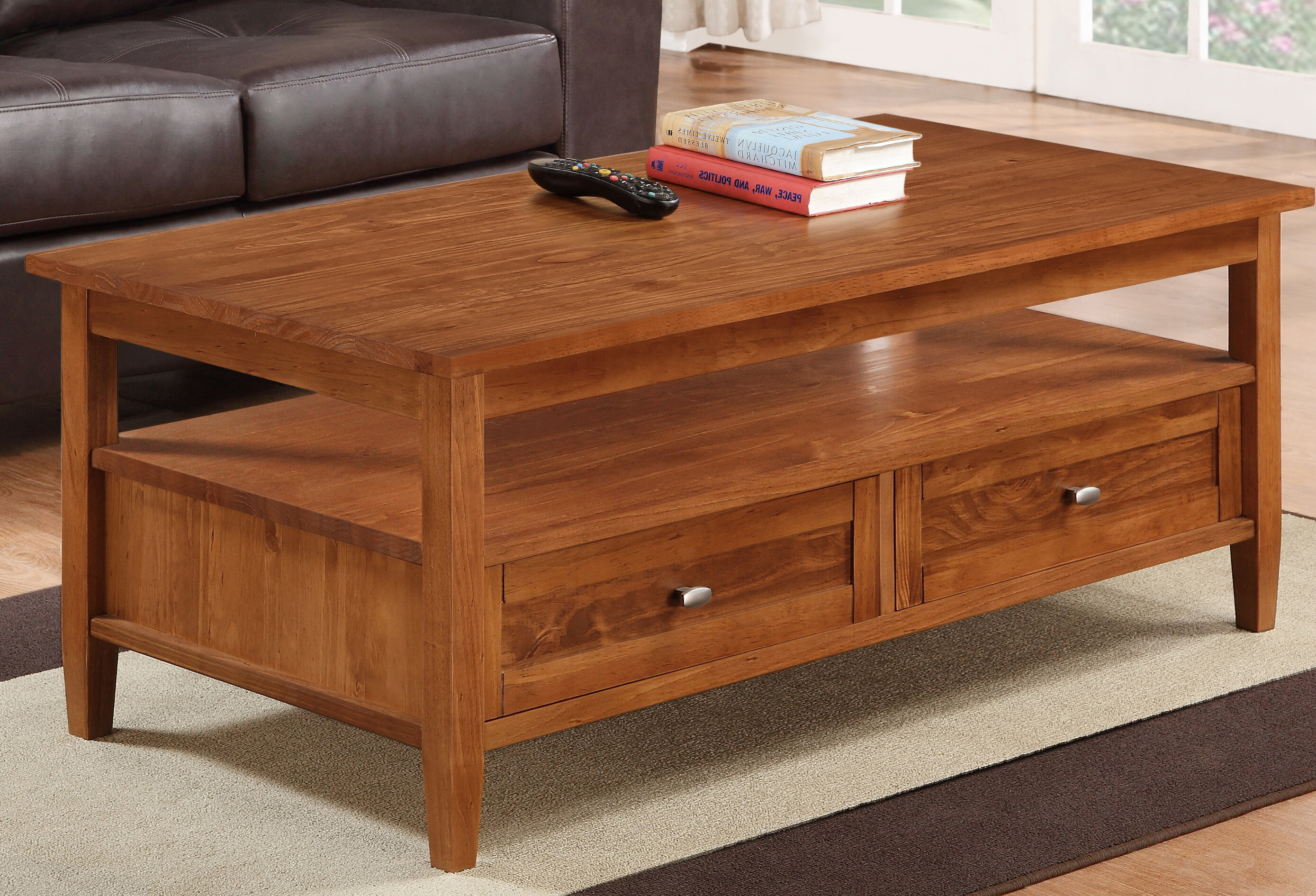 Simpli Home Warm Shaker Coffee Table & Reviews