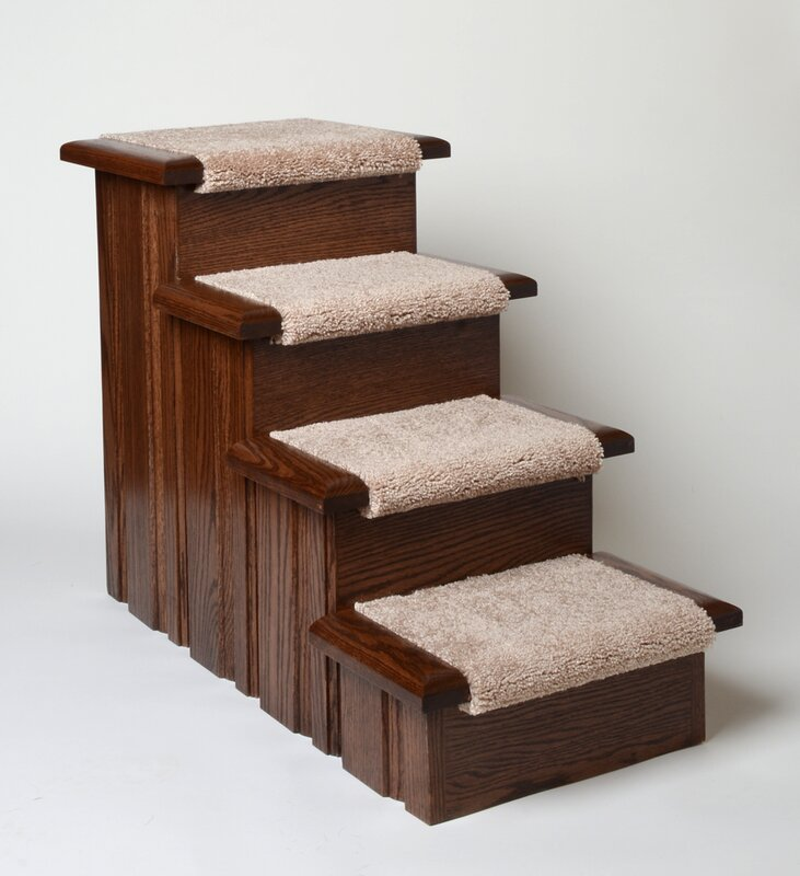 Raised Panel 4 Step Pet Stair & Premier Pet Steps Raised Panel 4 Step Pet Stair u0026 Reviews | Wayfair islam-shia.org