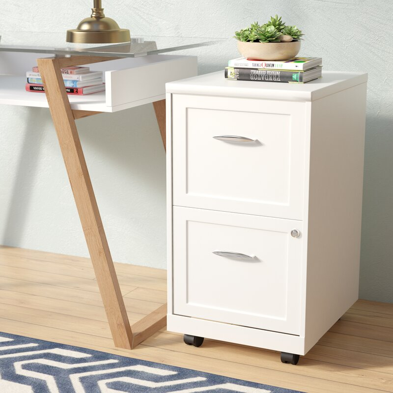 Gigi  Drawer Mobile Filing Cabinet