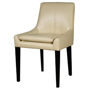 Chase Bonded Leather Upholstered Dining Chair by New Pacific Direct