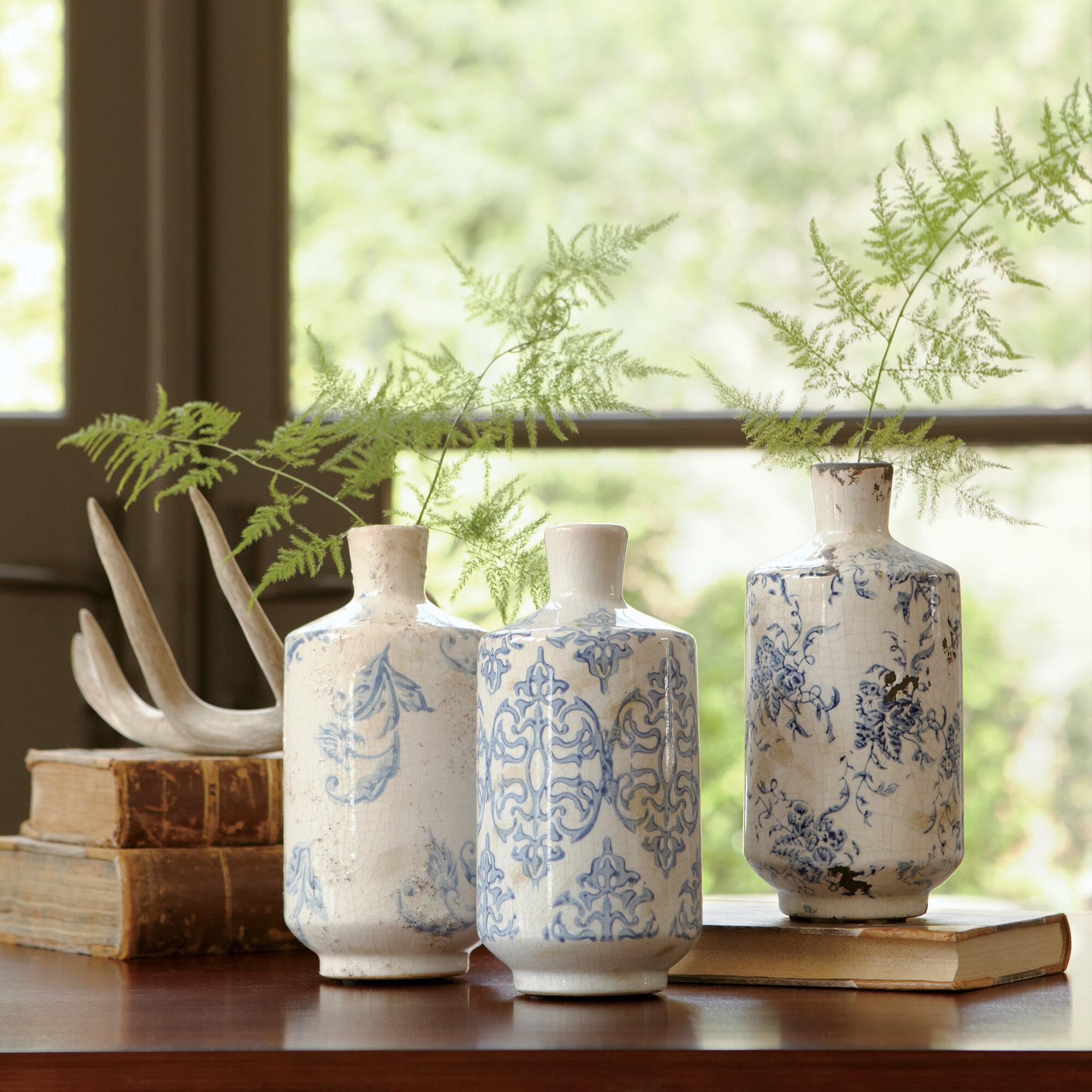 Birch lane bluestone terracotta vases reviews wayfair reviewsmspy
