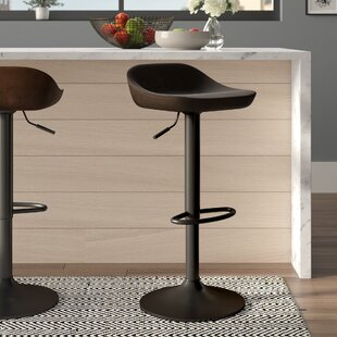 Abbeville Adjustable Bar Stool By Laurel Foundry