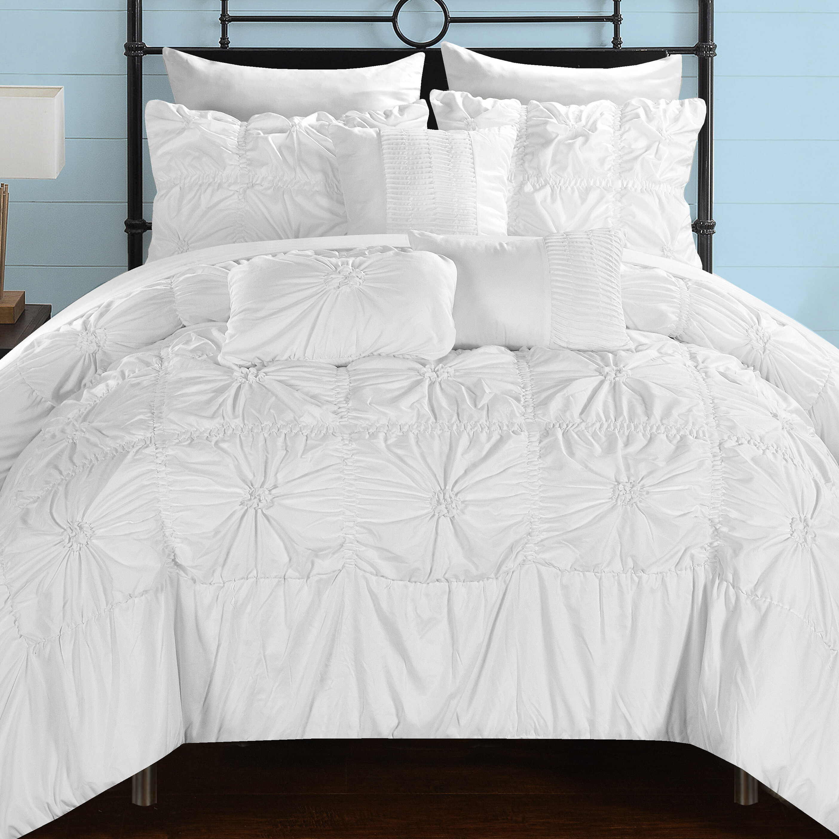Chic Home Springfield Comforter Set & Reviews | Wayfair