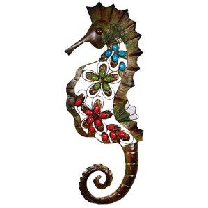 Seahorse Wall Decor outdoor seahorse decor | wayfair