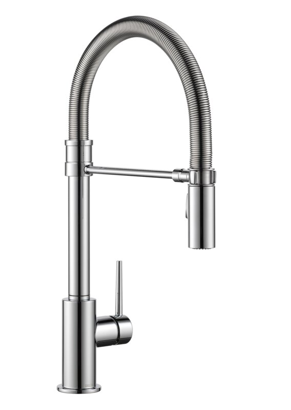 Trinsic Pull Down Touch Single Handle Kitchen Faucet