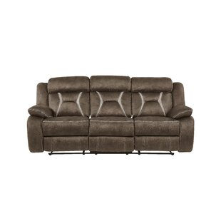 Mateas Sched Fabric Reclining Sofa