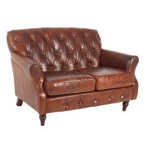 2-Sitzer Sofa Colonie aus Echtleder von LoftDesi..