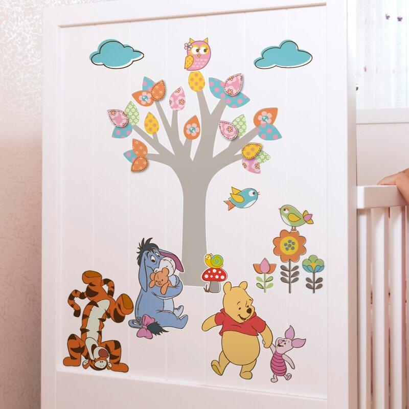 Komar Wandsticker Winnie Pooh Nature Lovers | Wayfair.de