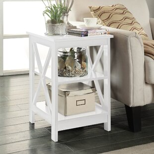 Charmant Nursery End Table White | Wayfair
