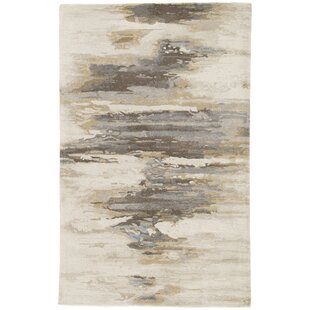 Inexpensive Fairlop Hand-Tufted Bungee Cord/Tidal Foam Area Rug ByIvy Bronx