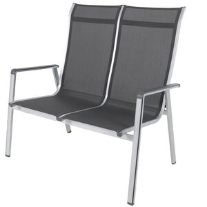 2-Sitzer Gartenbank Kedline aus Aluminium von MW..