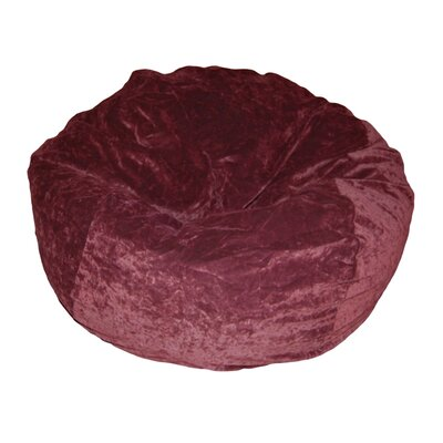 Ahh! Products Bean Bag Chair Upholstery: Eggplant