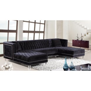 Beau Black Sectionals Youu0027ll Love | Wayfair