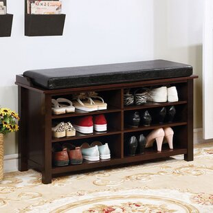 Gentil 8 Pair Shoe Storage Bench