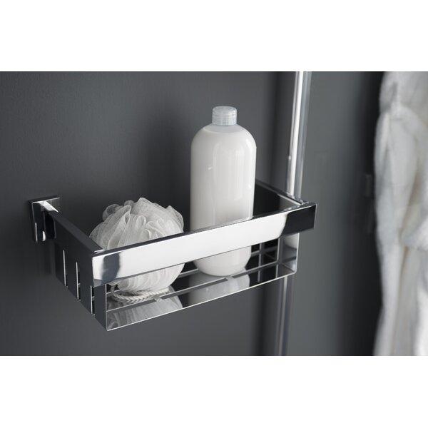 Haceka Edge Metal Wall Mounted Shower Caddy & Reviews | Wayfair.co.uk