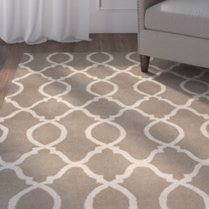 Johnsonville Hand-Tufted Beige Area Rug