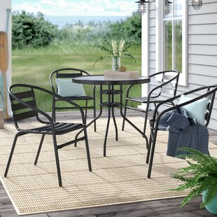 Calderwood 5 Piece Bistro Set