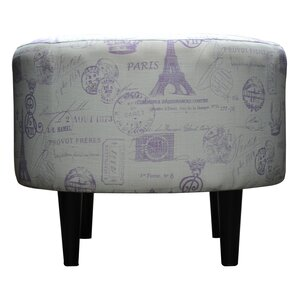 Sophia Ottoman by Sole Designs
