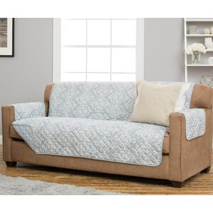 Kingston Box Cushion Sofa Slipcover by Home Fashion Designs