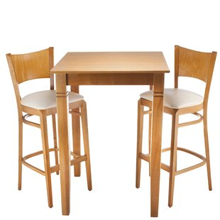 Earleville 3 Piece Pub Table Set