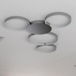 Doveton WiFi-Enabled Tunable 4-Light LED Metal Flush Mount