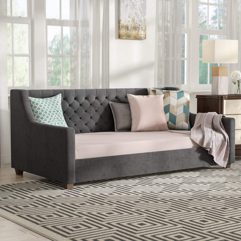 Pihu Upholstered Daybed Amp Reviews Allmodern