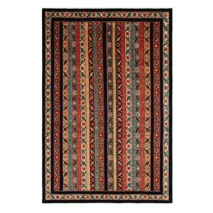 Lizeth Handmade Kilim Wool Orange Rug by Latitude Vive