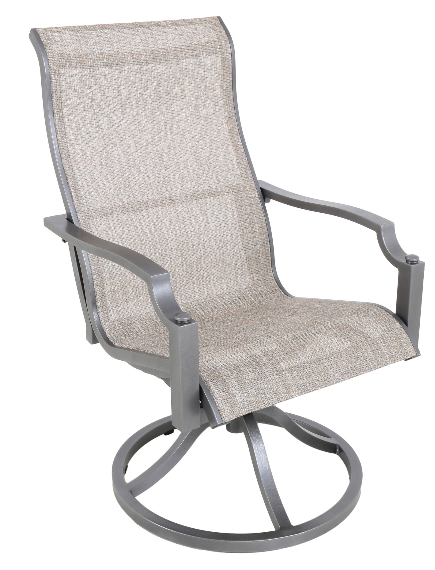 Exceptionnel Red Barrel Studio Konevsky Sling Swivel Patio Dining Chair ...