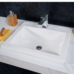 Quickview. American Standard. Studio Vitreous China Rectangular Drop In Bathroom  Sink ...