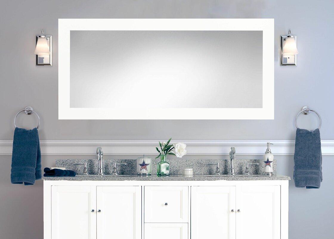 gray vanity bathroom sink dark farmhouse nellie