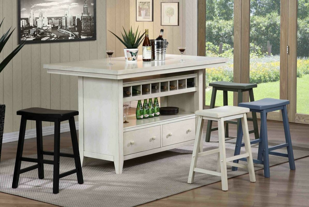 Oak Kitchen Carts And Islands August grove carrolltown wood kitchen island reviews wayfair carrolltown wood kitchen island workwithnaturefo