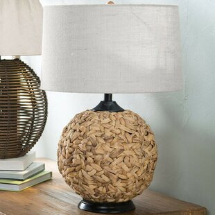 Seagrass lamp wayfair northvale woven seagrass 26 table lamp aloadofball Images