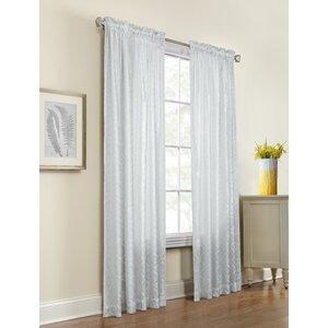 Renato Damask Room Darkening Thermal Rod Pocket Curtain Panels (Set of 2)