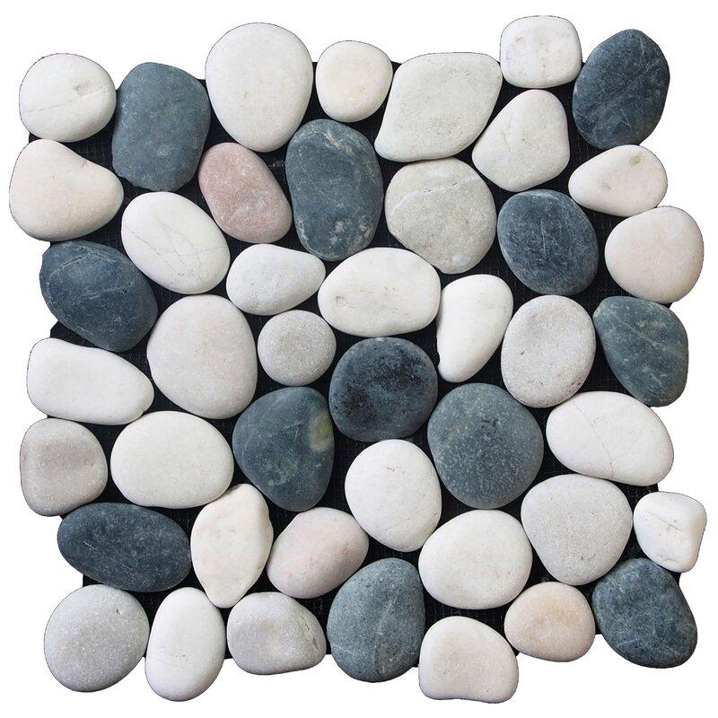Pebble Tile Classic Pebble Random Sized Natural Stone