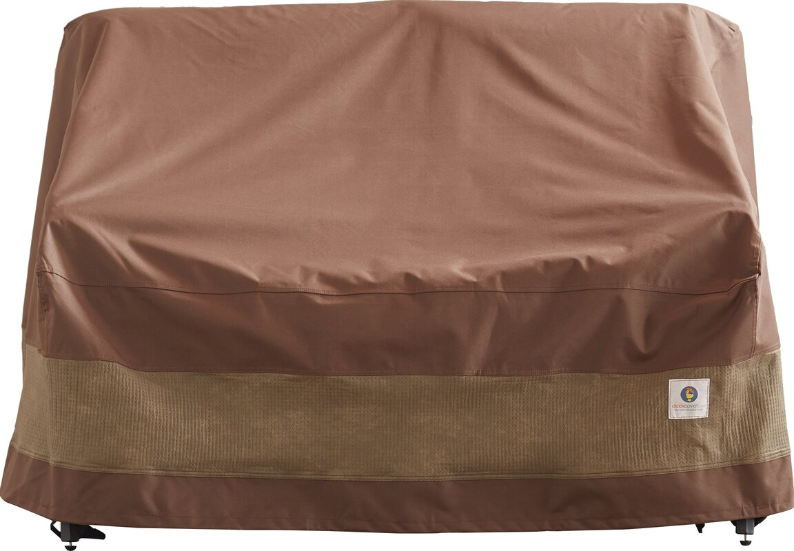 Patio Loveseat Cover With Buckle Fastener