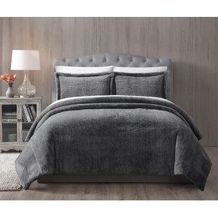 Jame Faux Fur Reversible Comforter Set 17d8546a09261