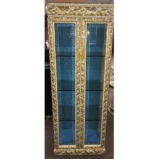 Zayden Lighted Curio Cabinet