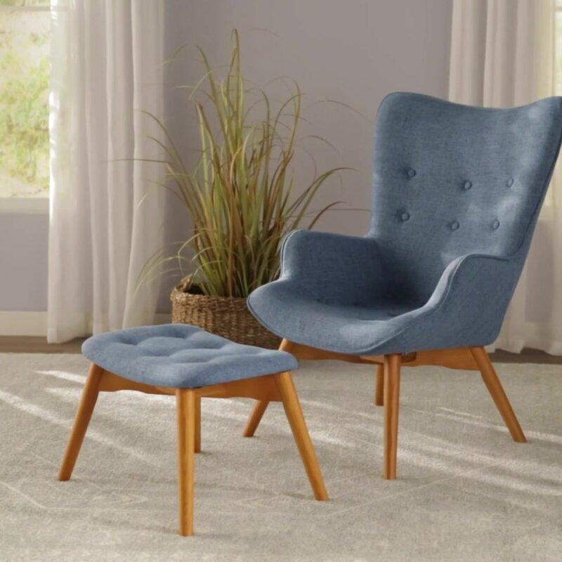 Awe Inspiring Langley Street Canyon Vista Lounge Chair And Ottoman Cjindustries Chair Design For Home Cjindustriesco