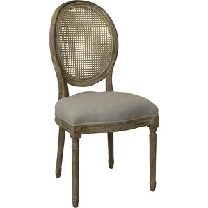 Louis Cane Side Chair by The Bella Collection