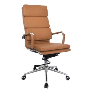 Office Furniture Official Website Us Fashion Mid-back Height-adjustable Armless Basic Faux Leather Computer Studio Task Office Chair With 360 Degree Swivel
