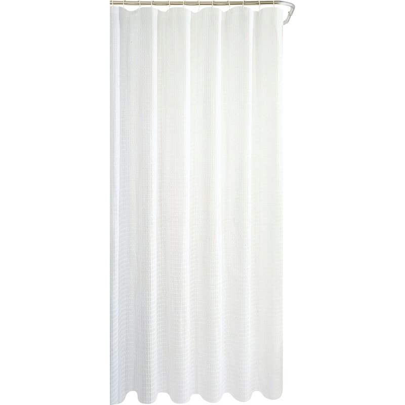 Zella Hotel Waffle Single Shower Curtain Reviews