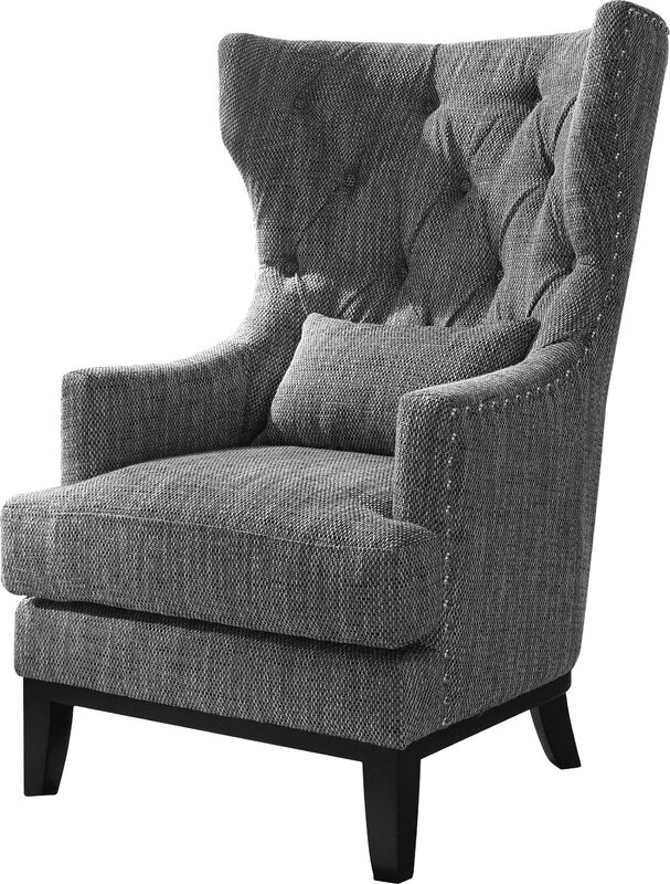 Darby Home Co Val Wingback Chair Amp Reviews Wayfair