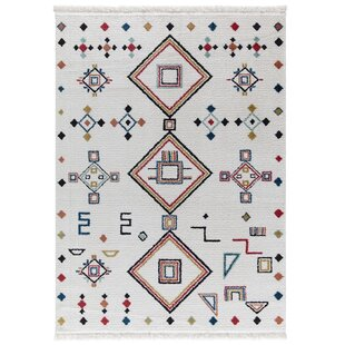 Read Reviews Rubie White Area Rug By Bungalow Rose